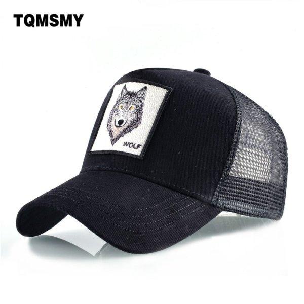 8 Kinds of embroidery animal Baseball Caps men Breathable Mesh Snapback caps Unisex sun hat for women bone Casquette Hip Hop cap 2020 2