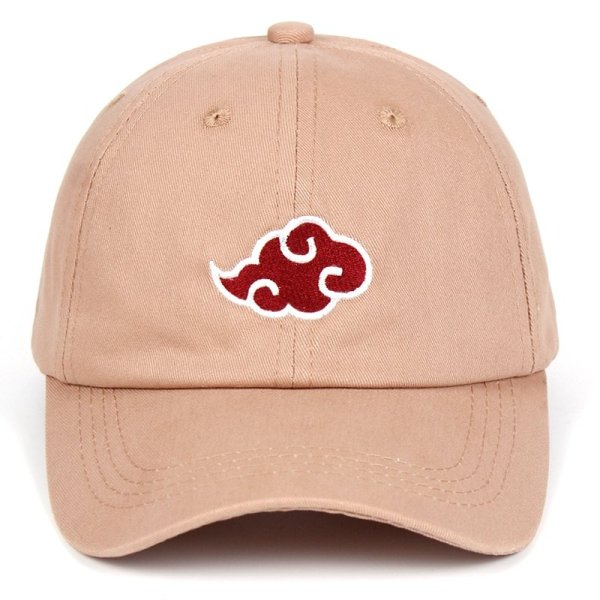 Anime Lovers Akatsuki Logo Dad Hat Uchiha Family Logo 100% Cotton Embroidery Baseball Caps Black Snapback Hat Red Cloud 6