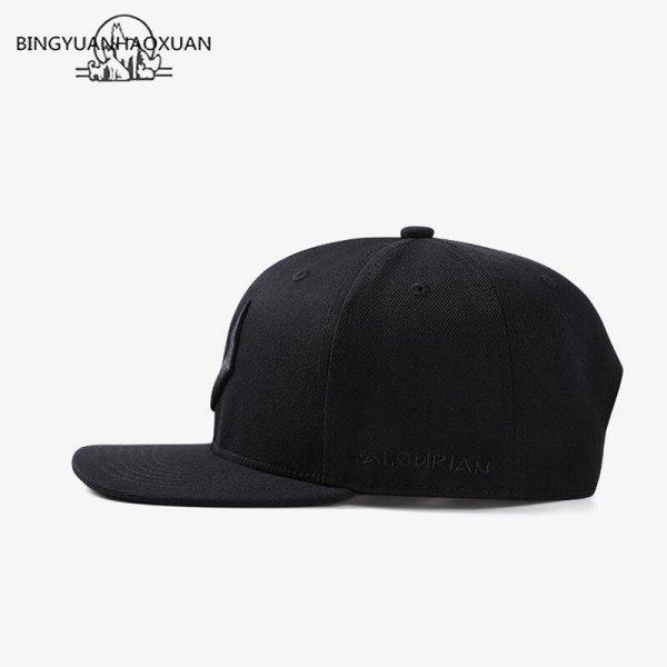 2020 High Quality Gray Wool Snapback 3D Pierced Embroidery Hip Hop Cap Flat Bill Baseball Cap for Adult 3