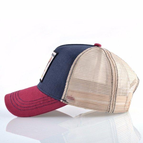 2020 Fashion Animals Embroidery Baseball Caps Men Women Snapback Hip Hop Hat Summer Breathable Mesh Sun Gorras Unisex Streetwear Bone 4