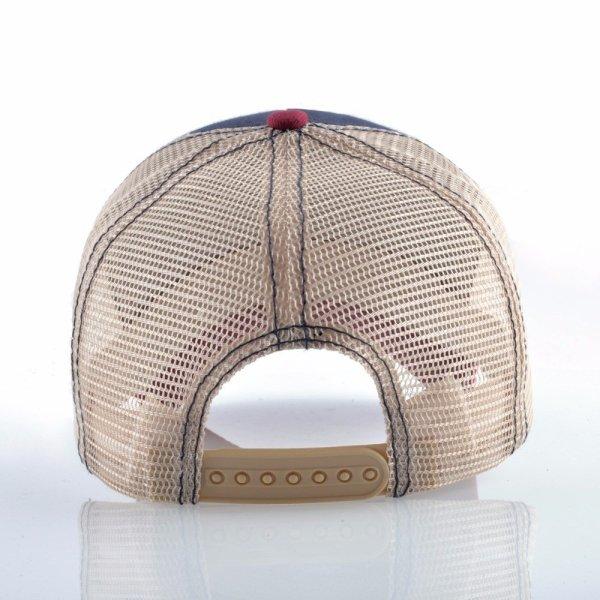 2020 Fashion Animals Embroidery Baseball Caps Men Women Snapback Hip Hop Hat Summer Breathable Mesh Sun Gorras Unisex Streetwear Bone 6