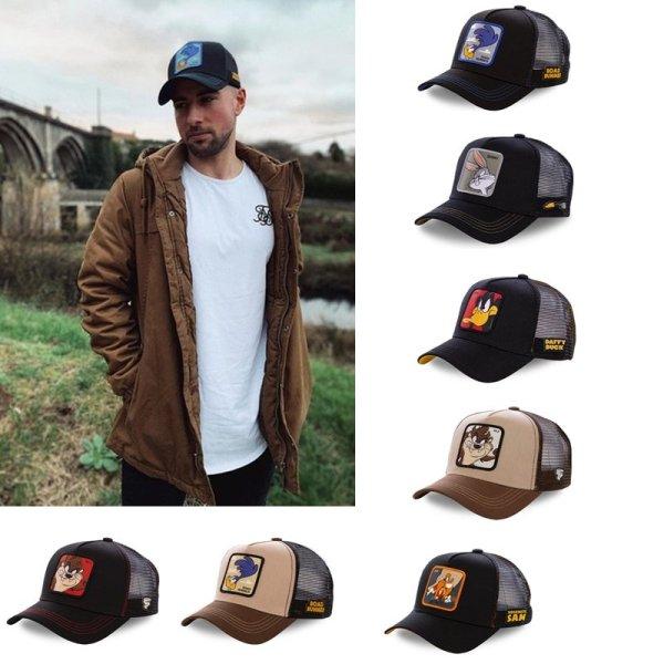 2020 High Quality  Animal TAZ Embroidery 6 Colours Snapback PICCOLO Cotton Baseball Cap Men Women Hip Hop Dad Mesh Hat Trucker Hat 4