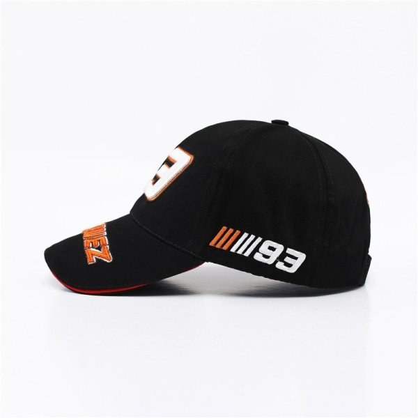 New Snapback Caps Wholesale  Embroidery Baseball Cap Hat Motorcycle Racing 93 Baseball Cap For Men 4
