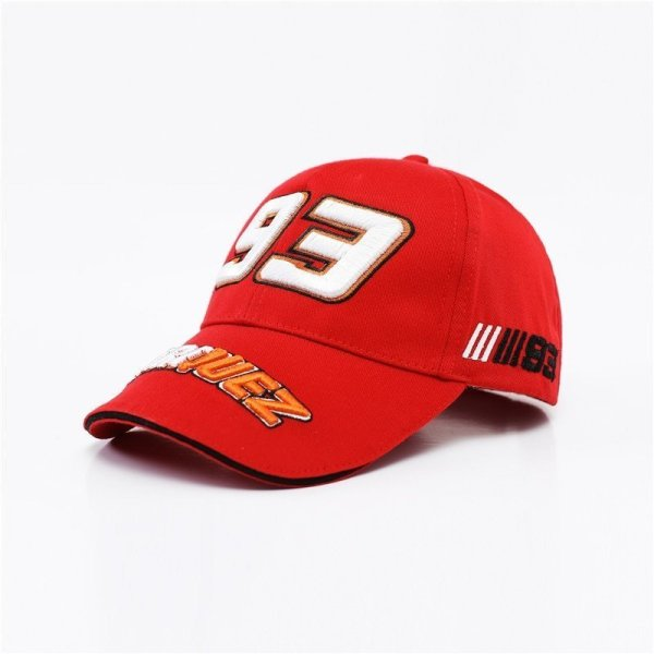 New Snapback Caps Wholesale  Embroidery Baseball Cap Hat Motorcycle Racing 93 Baseball Cap For Men 12