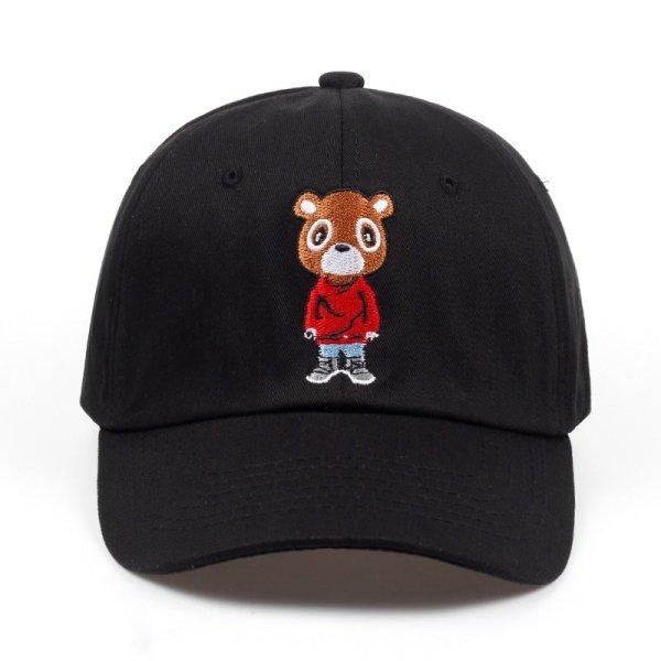 Newest Bear Dad Hat Lovely Baseball Cap Summer For Men Women Snapback Caps Unisex Exclusive Release Hip Hop Kanye West Ye Hat 2