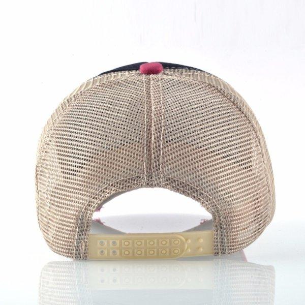 Unisex sun hats for men Hip Hop Hat Breathable Mesh Baseball Caps Women Embroidery panda Snapback caps Summer Gorras 8