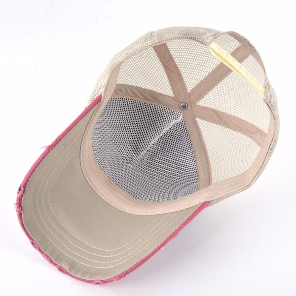 Unisex sun hats for men Hip Hop Hat Breathable Mesh Baseball Caps Women Embroidery panda Snapback caps Summer Gorras 10