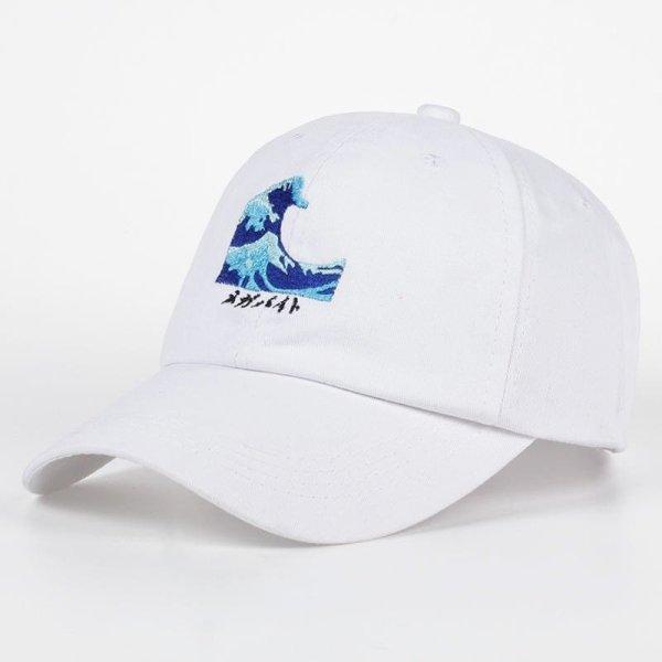 VORON Breathable Waves Snapback dad Caps Strapback Baseball Cap Bboy Hip-hop Hats For Men Women Fitted Hat Black pink white 6