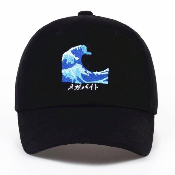 VORON Breathable Waves Snapback dad Caps Strapback Baseball Cap Bboy Hip-hop Hats For Men Women Fitted Hat Black pink white 8