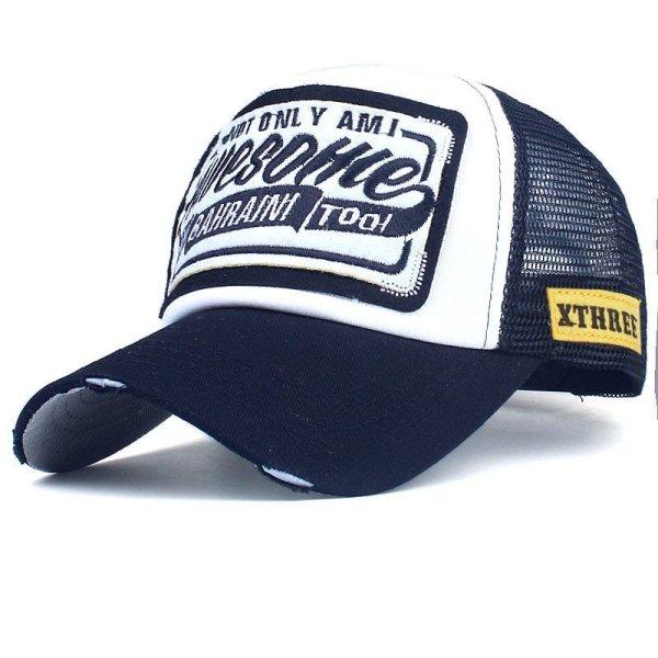 Xthree Summer Baseball Cap Embroidery Mesh Cap Hats For Men Women Snapback Gorras Hombre hats Casual Hip Hop Caps Dad Casquette 12