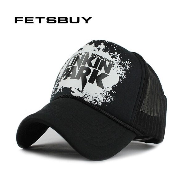FETSBUY Baseball Cap Breathable Summer Cap with Mesh Casual Fitted Casquette Trucker Hat Adjustable Snapback Hats wholesale 2