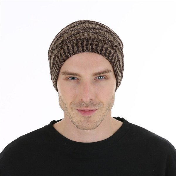 FETSBUY Unisex Bonnet Beanies Autumn And Winter Hat Skullies Hats For Men Women Add Velvet Warm Casual Beanie Gorros Muts #19008 6