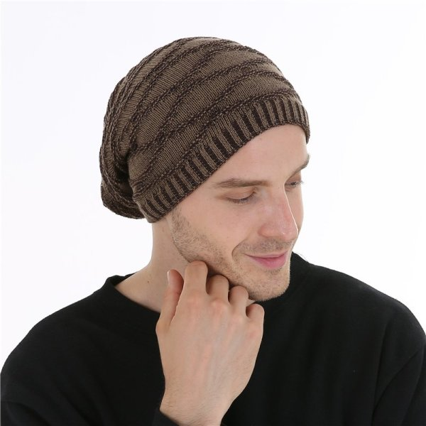 FETSBUY Unisex Bonnet Beanies Autumn And Winter Hat Skullies Hats For Men Women Add Velvet Warm Casual Beanie Gorros Muts #19008 8