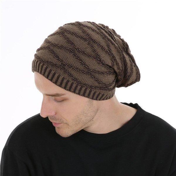 FETSBUY Unisex Bonnet Beanies Autumn And Winter Hat Skullies Hats For Men Women Add Velvet Warm Casual Beanie Gorros Muts #19008 5