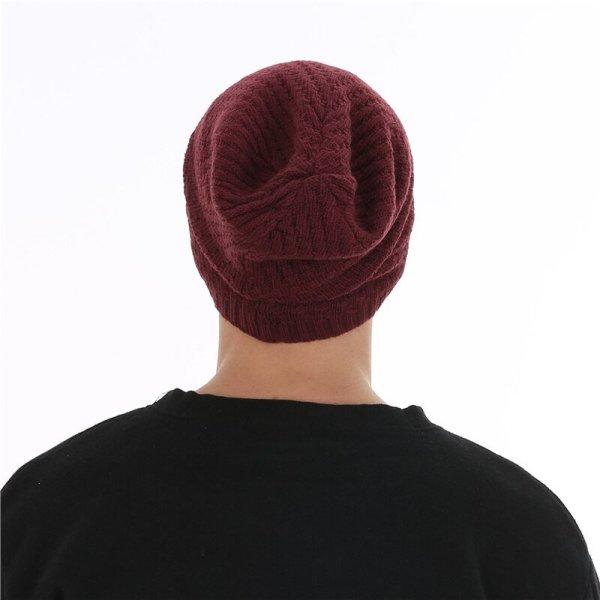 FETSBUY Winter Hats Skullies Beanies Hat Winter Beanies For Men Women Wool Scarf Caps Balaclava Mask Gorras Bonnet Knitted#19007 12