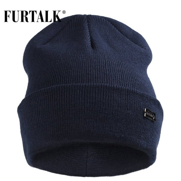 FURTALK Winter Hats for Women Men Knitted Beanie Hat Cap for Girls Female and Male Skullies Couples Stocking Hats Cap 2