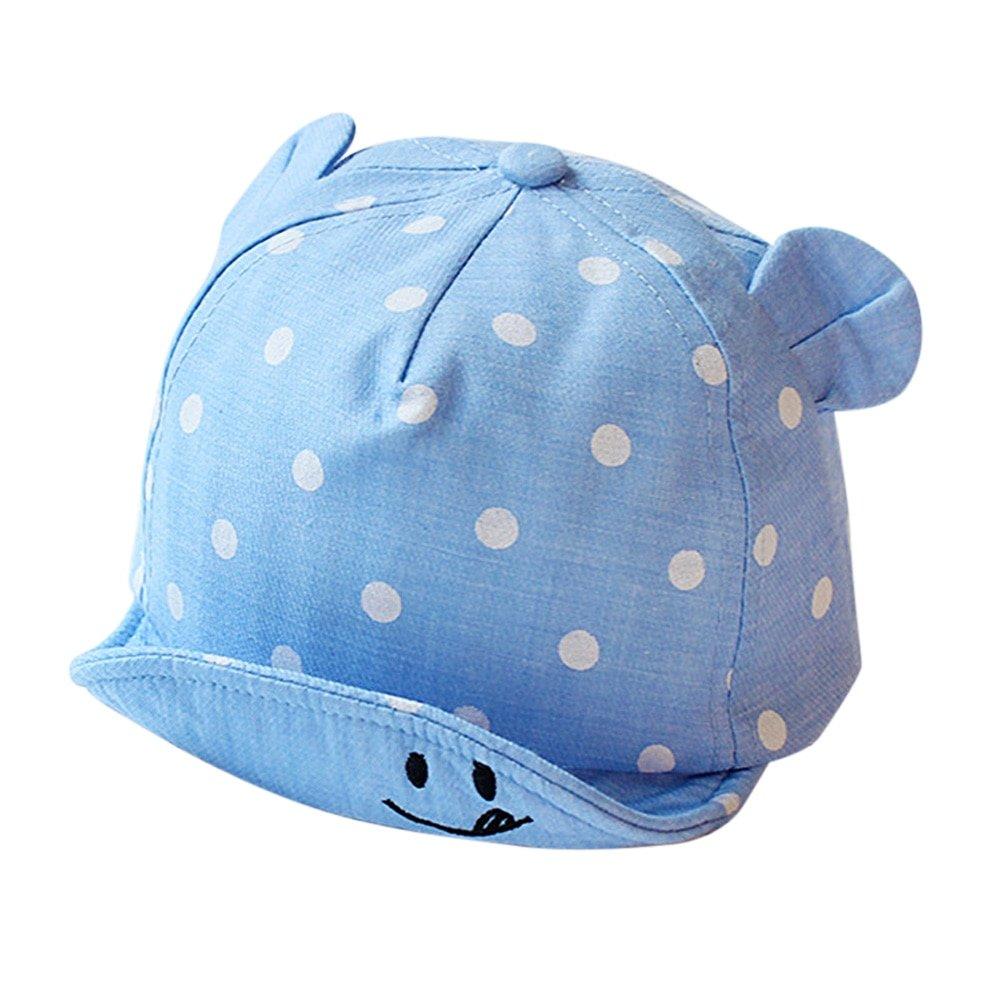 Parent-Child Hat Baby Boy Girls Fashion Cotton Baseball Cap Round Ear Summer Hat