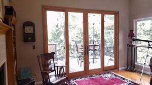 4 panel wood interior door