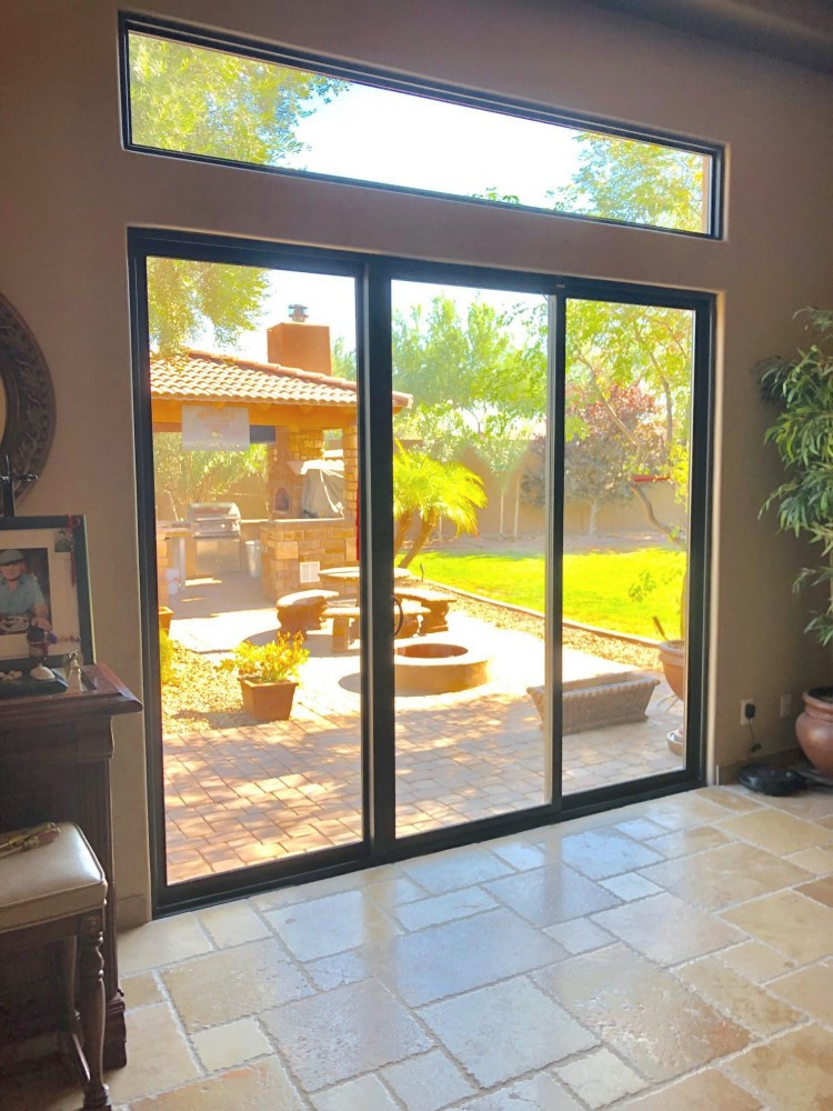 sliding glass doors replacement window in gilbert az