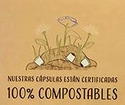Cápsulas compostables