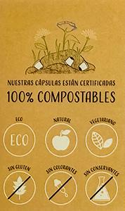 100% compostables