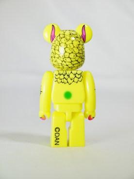 Bearbrick 100 S33 Artist DAN Yellow Monster 06
