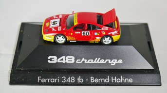 Herpa GmbH - 1-87 Motorsport Collection 348 challenge Ferrari 348 tb - Bernd Hahne - No. 60 - 02