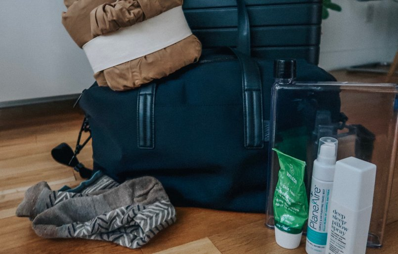 how to pack for a long flight