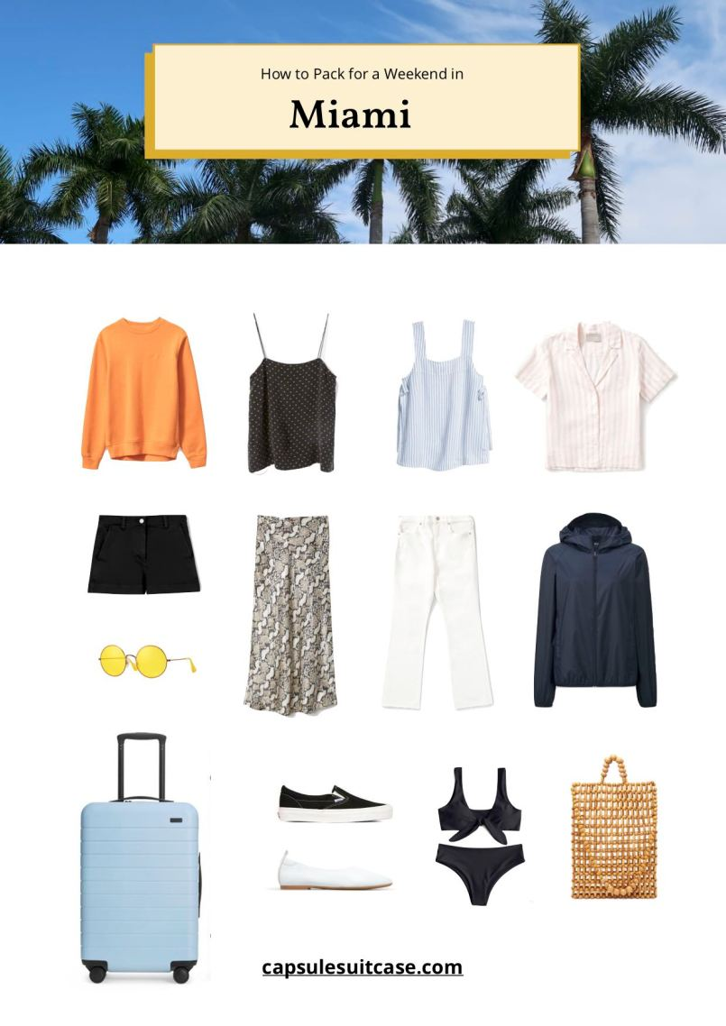 how to pack for miami
