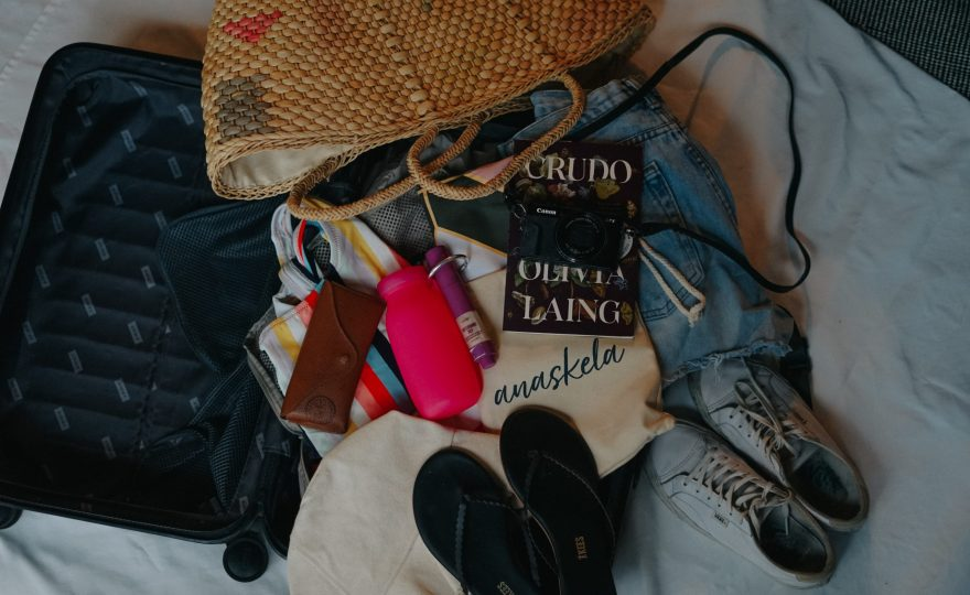 pack for beach vacation