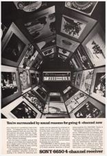 Sony SQR-6650 Surrounded By Sound (1972)
