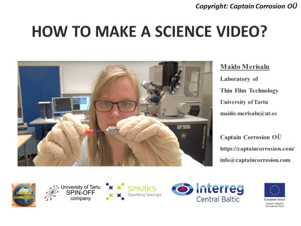 How to make a science video