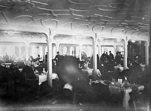 Titanic Interior Captain Edward Smith On The Titanic