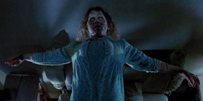 Image result for exorcist levitation