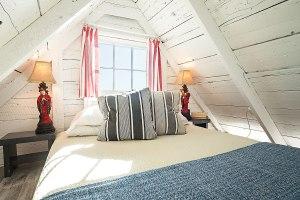 second sleeping loft above living room