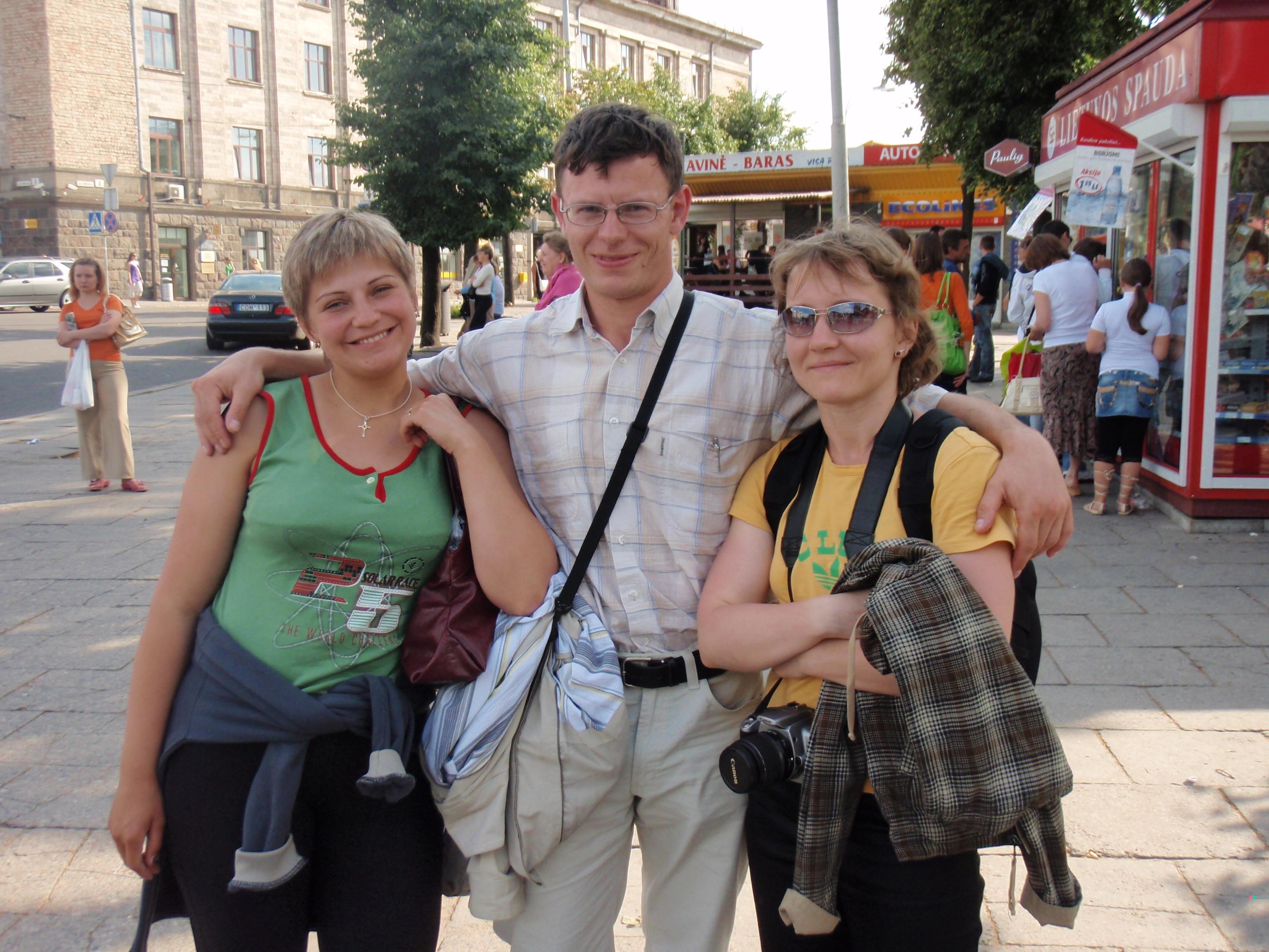 Natasha, Dimitri and Svetlana