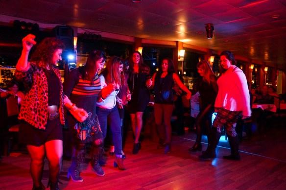 line dancing ladies from Lebanon