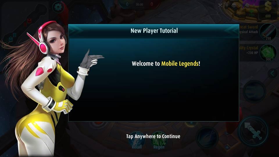 Mobile Legends ESPORTS MOBA Captain Joker Tech