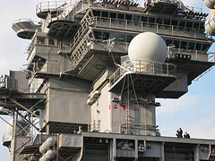 USS KITTY HAWK CV-63, yokosuka, japan 2007 米海軍...