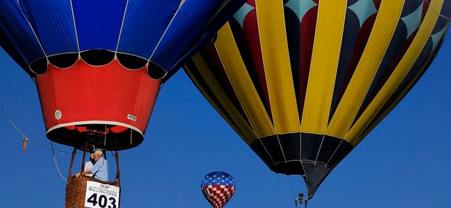 Balloon Festival in Albuquerque
