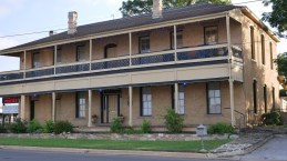 """The Roper Building. Originally a hotel, reputed to have had a """"reputation"""" at one time. Was a restaurant in the early 1980's until converted to offices in 1985 by Gil Jones and 3 others."""