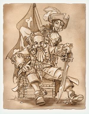 Pirate's Wedding by Razor Geisha