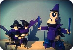Yup, witches hat eyelids.