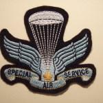 Canadian SAS Association Commemorative jacket crest.