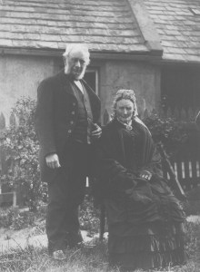 Duncan McGregor and unidenfied lady. Possibly his mother Catherine or his wife.