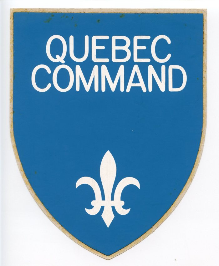 Quebec Command - Colin M Stevens Collection