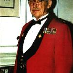 Lieutenant Colonel A. H. Stevens in mess kit in Vancouver BC in the early 1970s