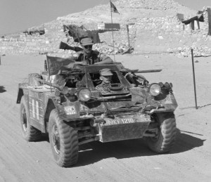 Canadian Army Ferret MK. I UNEF 1218 (MIGHT be CAR 54-82547) DND photo ME-378
