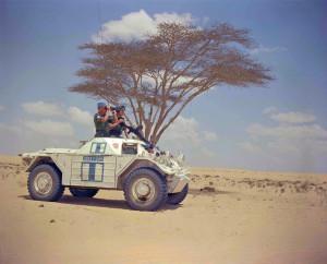 UNEF 1598 CAR UNKNOWN. DND photo ZK-1946-17
