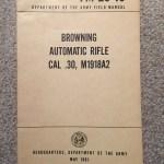 Manual BAR M1918A2